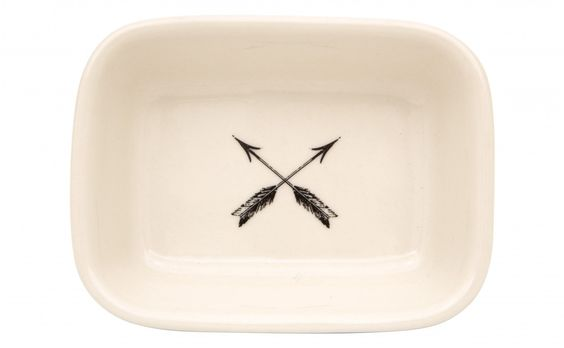 arrow soap dish