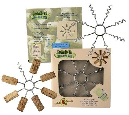 Wine cork trivet - another thing to do with all those wine corks ;]