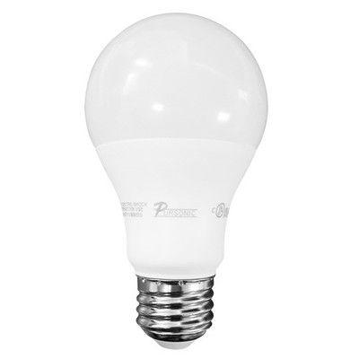 Pursonic 60 W E26 LED Light Bulb Pack of 10 Bulb Temperature: