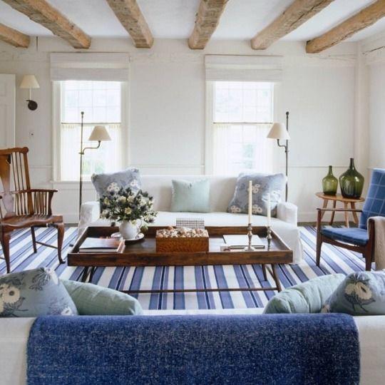 Theredheadfromva Hamptons Living Room Home Hamptons House
