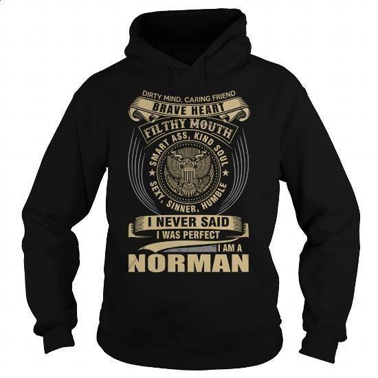 NORMAN - #tee shirt #retro t shirts. GET YOURS => https://www.sunfrog.com/Names/NORMAN-111713315-Black-Hoodie.html?id=60505
