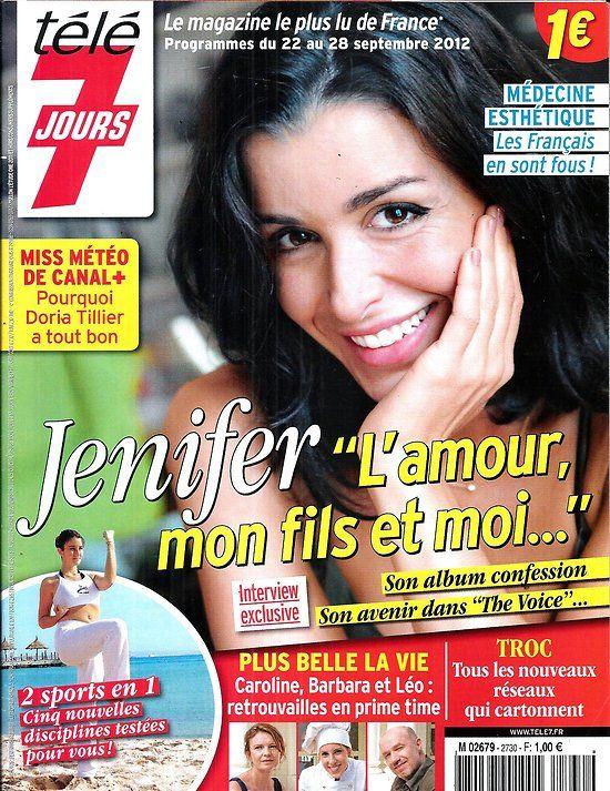 Plus Belle La Vie 3887 : belle, Jours, N°2730, 22/09/2012, Jenifer/, Neeson/, Belle, Dowtown, Abbey, Jenifer,, Neeson,, Jenifer, Bartoli