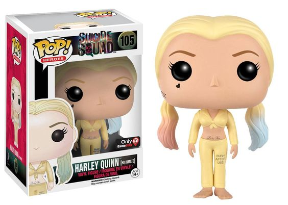 Funko releasing Harley Quinn (HQ inmate) pop figure from Suicide Squad
