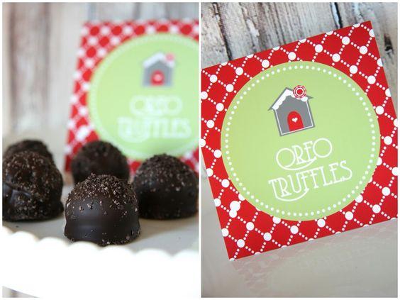 My favorite....OREO truffles