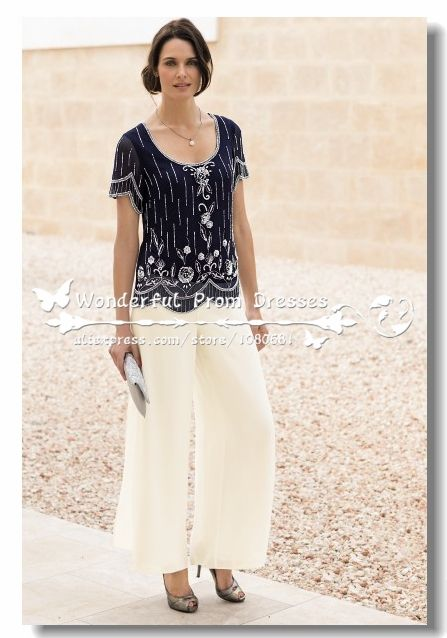 Mother Bride Pant Fashion Dresses