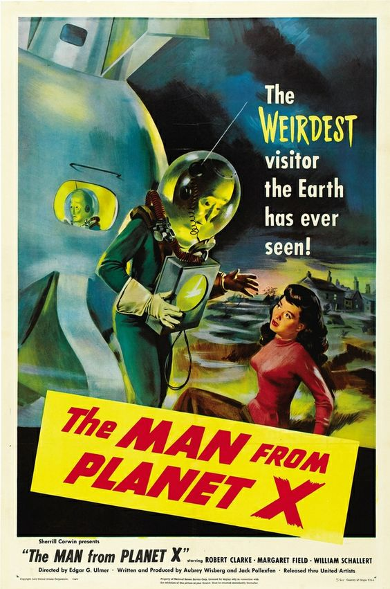 The Man from Planet X- 1951