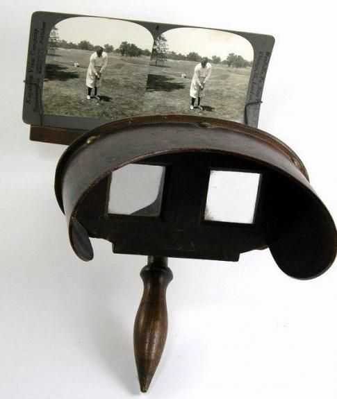 Vintage Wooden Stereo Viewer