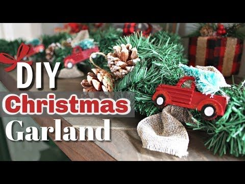Diy Rustic Christmas Decor Red Truck Christmas Decor Diy