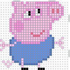 Peppa Pig : la famille cochon en perles Hama