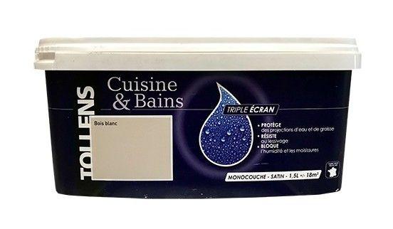 Tollens Peinture Acrylique Cuisine Bains Triple Ecran 1