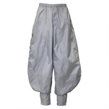 Chocho Long Hachibun Pants - Gray