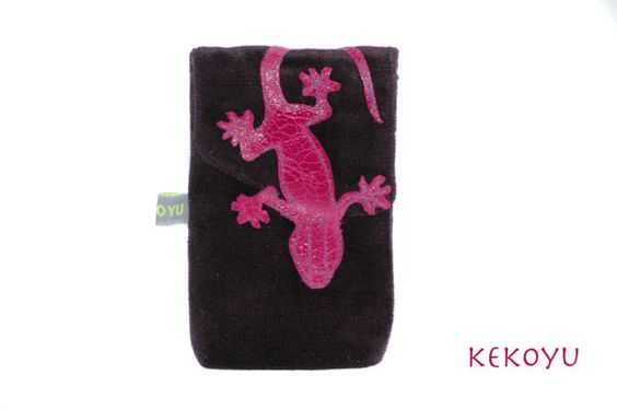 iPhone 5 Tasche Samt Leder von KEKOYU auf Etsy, €29.00
