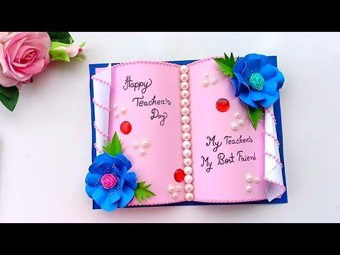 Diy Teacher S Day Card Handmade Teachers Day Card Making Idea Youtube Teachers Day Card Teachers Diy Cards Handmade