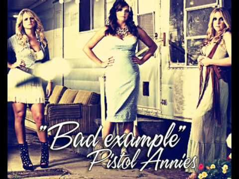 pistol annies - bad example | loving these gals! finally some new country that sounds like old country.