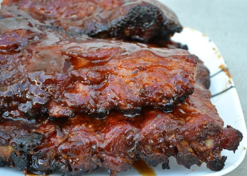 Baby back ribs with maple-bourbon glaze | Recipes to try | Pinterest ...