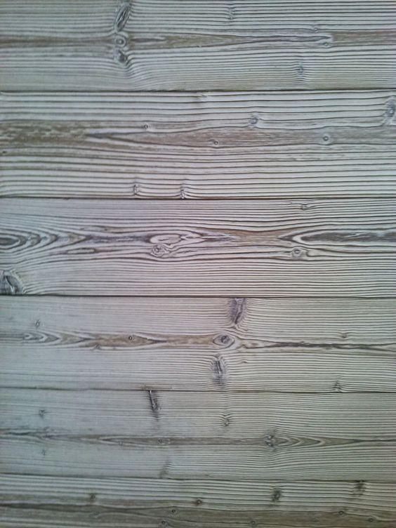 Rivestimento di parete o divisorio Parlando di legno... : Abete termo ...