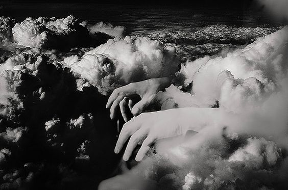 hands: Double Exposure Photography, Photography And Art, Black White Photography, Artistic Photography, Art Photography, Photography Art, Clouds Hands, Photography Alison