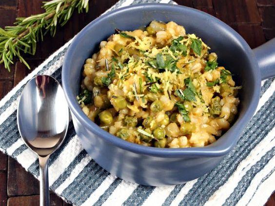 Baked Spring Veggie Risotto | Vegan/Vegetarian | Pinterest | Risotto ...