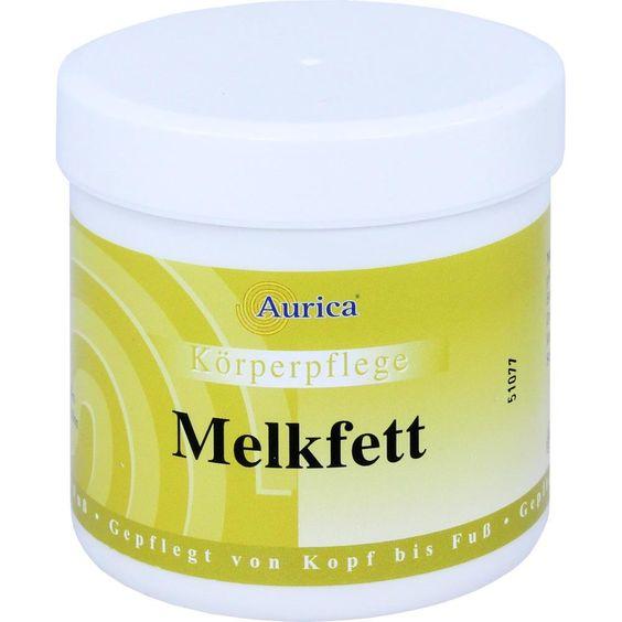 MELKFETT:   Packungsinhalt: 250 ml Körperpflege PZN: 06958974 Hersteller: AURICA Naturheilm.u.Naturwaren GmbH Preis: 4,29 EUR inkl. 19 %…