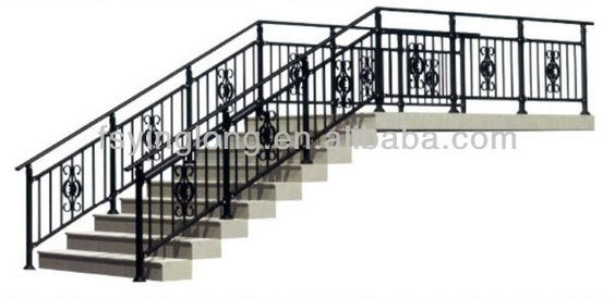 Railing Design Wrought Iron Handrail And Iron Handrails On Pinterest