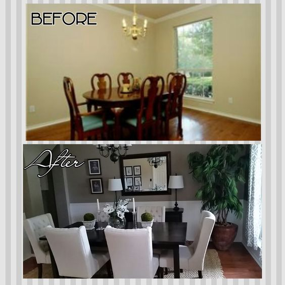 Dining Room On A Budget: DIYife: Dining Room Makeover On A BUDGET