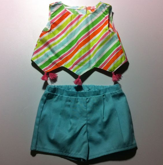 Lissie & Lilly: Photos of 1960s Beforever Melody's Rainbow Play Outfit