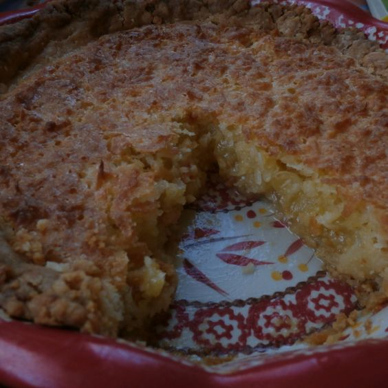 French Coconut Pie Recipe | Just A Pinch Recipes