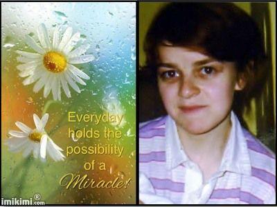 Praying for Sandra's miracle.