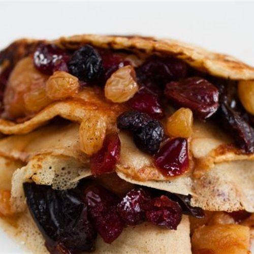 من البوابة نيوز عاجل طريقة البان كيك بكمبوت الفواكه المجففة