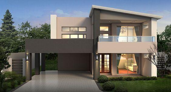 Casas Con Techos Inclinados Sin Porton Casas Modernas Casas Techos De Casas Modernas