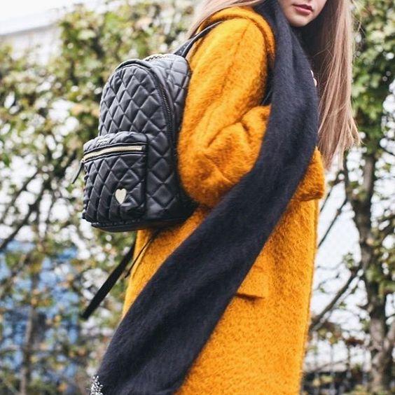 Twin-Set backpack - shop now on casunique.com | The lowest price!  Our price €158.00 (official website price €168.00)  🇷🇺 Рюкзак Twin-Set - доступен к заказу прямо сейчас на сайте casunique.com с бесплатной доставкой в Россию и самой низкой ценой в Европе! #fw16 #editorial #look #nowonline #newarrivals #CasUnique #women #style #backpack