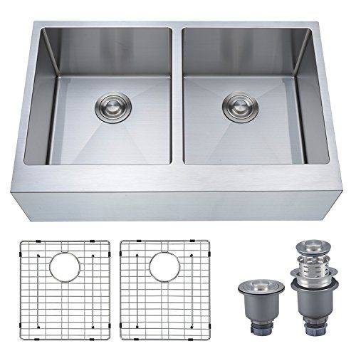 10 Best Farmhouse Sinks Plus 1 To Avoid 2019 Buyers Guide Freshnss In 2020 Stainless Steel Apron Kitchen Sink Apron Sink Kitchen Farmhouse Apron Kitchen Sinks