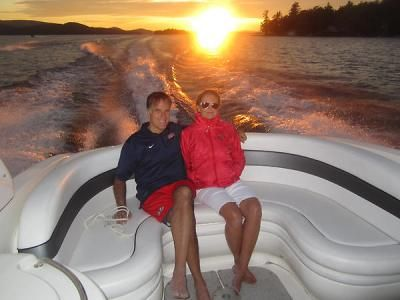 Tagg Romney tweets photo of Mitt and Ann Romney in a boat | Twitchy