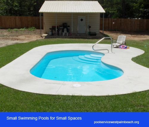 Small swimming pools pools and swimming pools on pinterest for Types of swimming pools