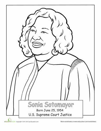 Sonia Sotomayor Clip Art