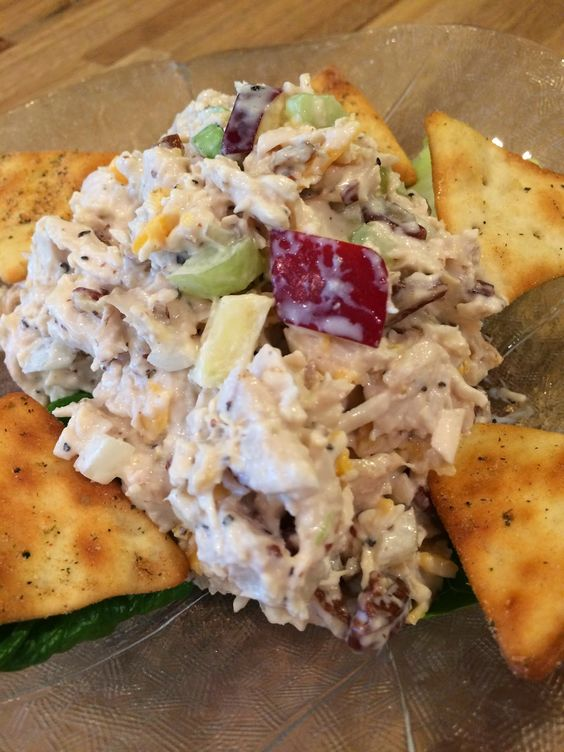 Dream Home Cooking Girl: I LOVE chicken salad! I have several different recipes, but I really like this one and wanted to share it with you..enjoy :)