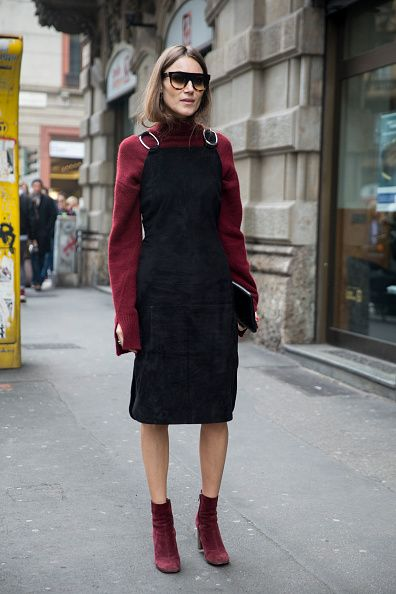 Giorgia Tordini at the Sportmax show during the Milan Fashion Week Fall/Winter 2016/17 on February 26 2016 in Milan Italy: