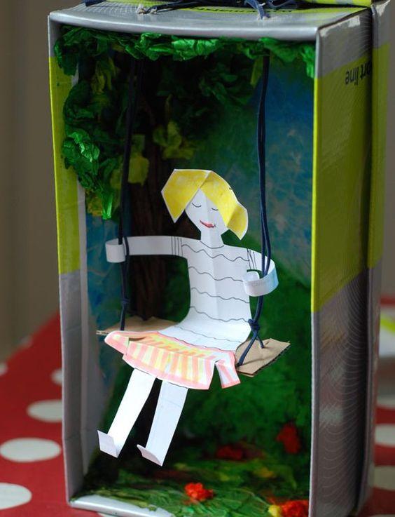 17 Shoebox Craft Ideas Bright Star Kids Waste Free Craft Ideas Shoe Box Crafts Kids Art Projects Diorama Kids