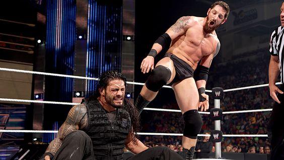 SmackDown 6/13/14: Roman Reigns vs Bad News Barrett