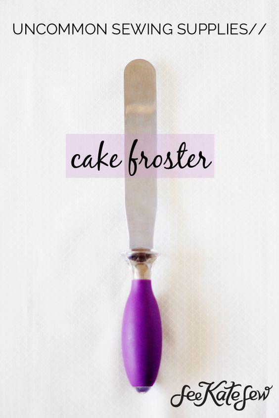 utilizar un froster pastel para coser?  Haz clic aquí para averiguar por qué usted necesita uno también!