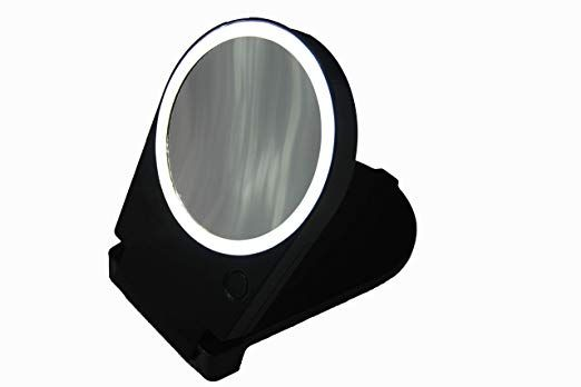 Pin On Mirrors, Floxite 10x Lighted Travel And Home Mirror