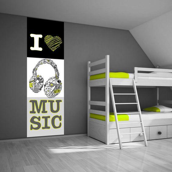 Een geweldig idee voor een coole tienerkamer voor een tiener moet zijn haar kamer eigentijds en - Kleuridee voor een kamer ...