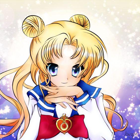 Headshot Commission Sailor Moon by *ibuzoo on deviantART