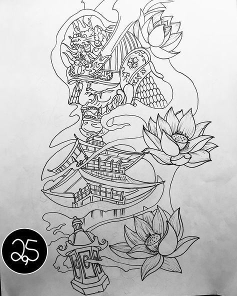 New Sketch Marecipe Japanese Tattoo Samurai Tattoo Design Japanese Tattoo Art