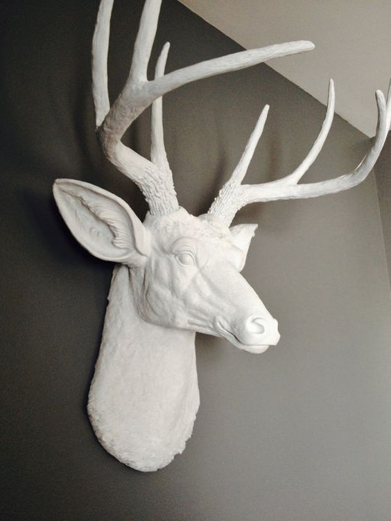 Deer Head Decor Plastic Home Hardware