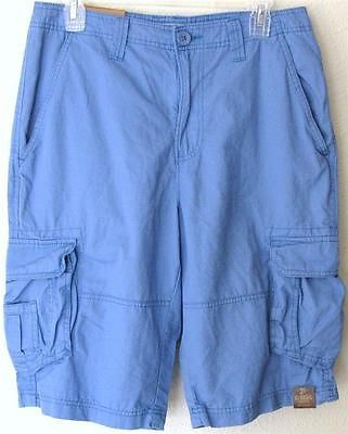Urban Pipeline Light Blue Cargo Shorts Flat Front Classic Fit Size ...