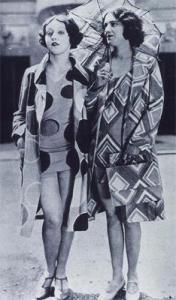 Mannequins Modeling Delaunay's Beachwear, 1928