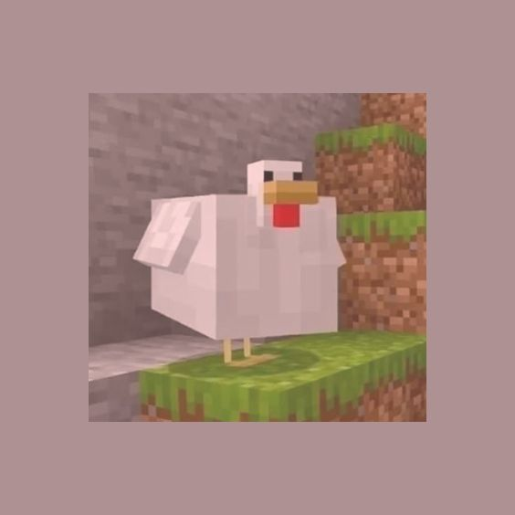 Cursed Chicken Minecraft Aesthetic In 2020 With Images Mood