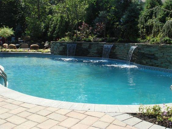 Epic  Bilder von Pool im Garten bilder pool garden schwimmbecken ideen fu boden Architektur u moderne H user und Geb ude Pinterest Gardens
