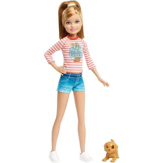 Stacie in Barbie and Her Sisters in the Great Puppy Adventure Doll, 2015 ($13 at Toysrus.com)